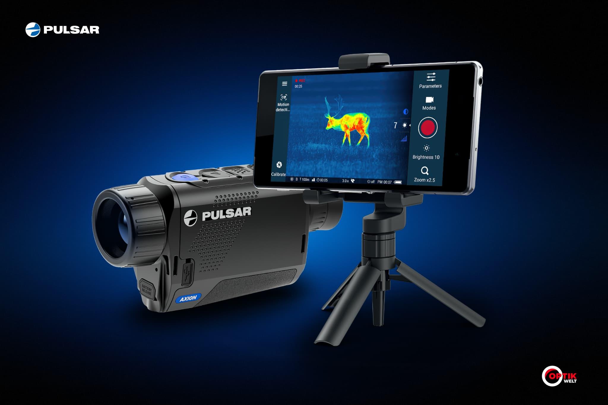 Pulsar Axion Stream Vision äpp